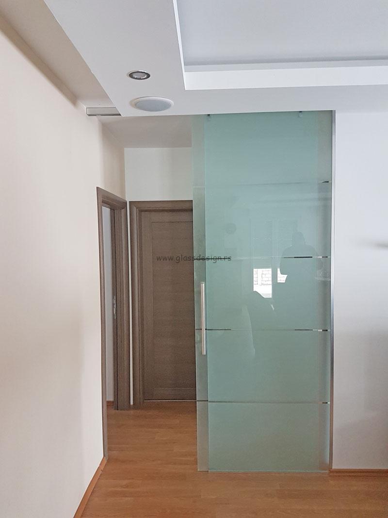 Staklena kancelarijska vrata